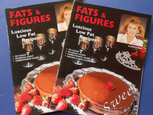## FATS & FIGURES SWEET COOKBOOK - KAREN DALY - LUSCIOUS LOW FAT DIET RECIPES