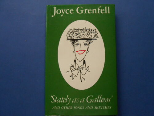 ## STATELY AS A GALLEON - JOYCE GRENFELL - VINTAGE HC DJ **SONGS & SKETCHES