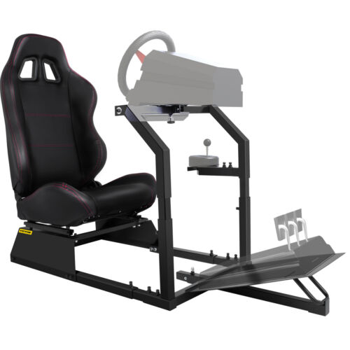 GTA-F Racing Simulator Cockpit Gaming Chair With Stand Anti-rust For Xbox One