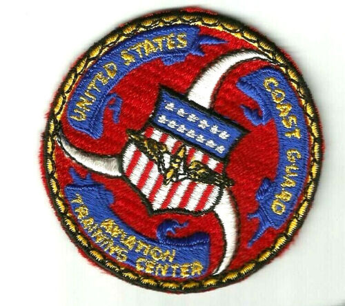 United Staters Coast Guard (USCG) patch Aviation Training Center 3 in dia #814Coast Guard - 66530