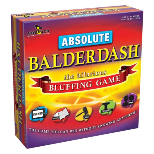 Absolute Balderdash Family Board Game NEW