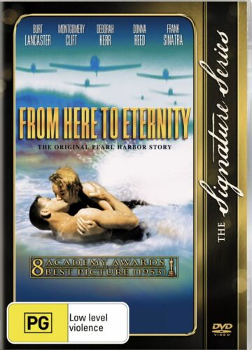 From Here to Eternity DVD Region 4 Brand NEW Sealed Free Post