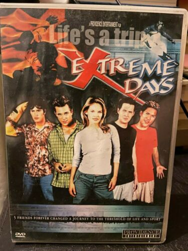 Life's a trip Extreme Days DVD All Region HTF road trip action movie x sport