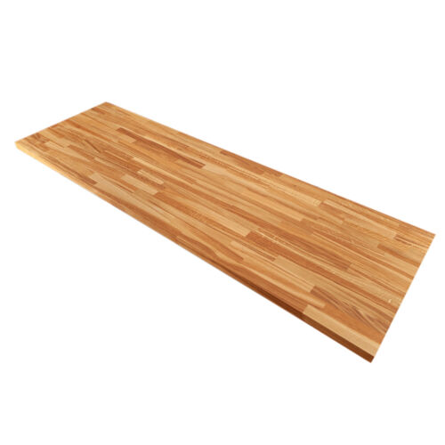 Farmhouse Oak Worktops, Solid Wood 40mm Stave Rustic Timber Kitchen Surfaces <br/> Free delivery from the UK's largest wood worktop seller
