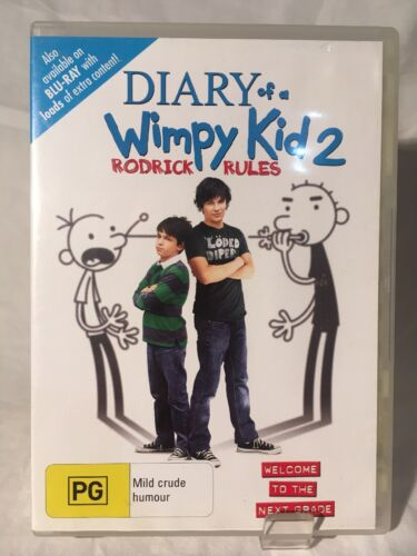Diary Of A Wimpy Kid 2 Rodrick Rules DVD