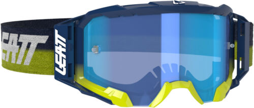 Leatt Velocity 5.5 Goggles Ink With Blue Lens