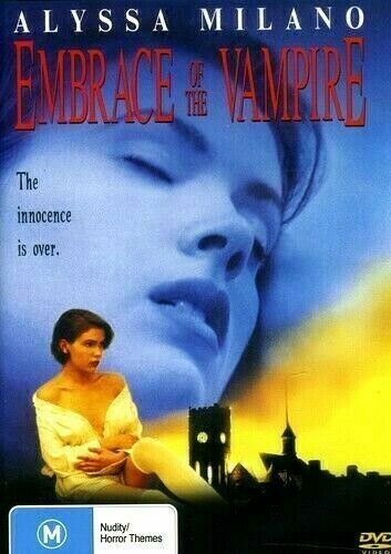 Embrace of the Vampire DVD Alyssa Milano New and Sealed Australian Release