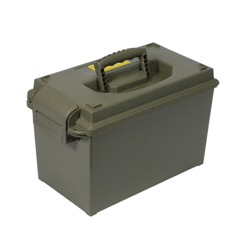 Ammo Box 50 Cal Style Injection Moulded Water Resistant Lockable Ammo Tool BoxOther Tool Storage - 42633