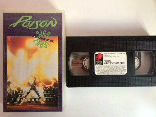 POISON VHS TAPE SIGHT FOR SORE EARS