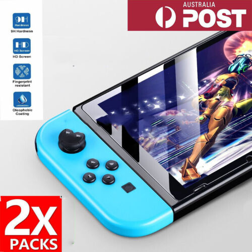 2x Tempered Glass Screen Protector For Nintendo Switch/Switch Lite