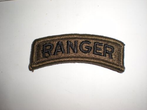 US ARMY RANGER TAB PATCH - SUBDUED BDUArmy - 66529