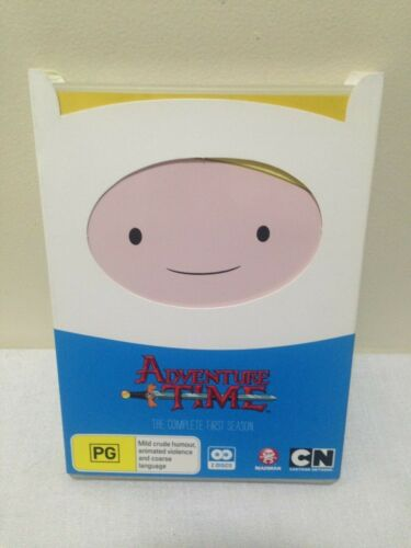 ADVENTURE TIME Complete FIRST Season DVD Region 4 PAL (d1)