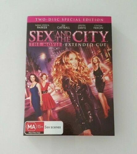 Sex and the City Movie 1 Extended Cut DVD sarah parker special edition film US
