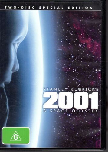 2001 A SPACE ODYSSEY - DVD R4 2-Disc (2007) Special Edition LIKE NEW FREE POST
