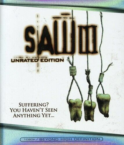 Saw 3 (Unrated Edition) BLU-RAY NEW