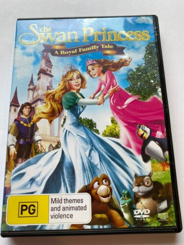 THE SWAN PRINCESS A Royal Family Tale DVD in VGC