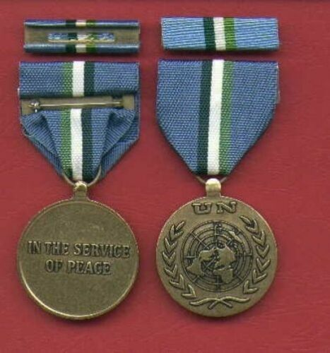 One full size UN United Nations medal for New Guinea Mission with ribbon barOther Militaria - 135