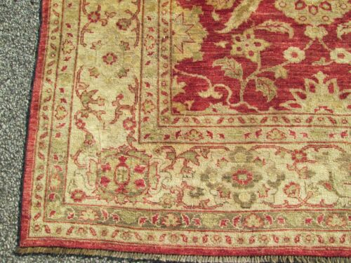 FINE ROOM SIZE ORIENTAL RUG HAND WOVEN A BEAUTY INDIAN HILL RUG DEALER'S ESTATE