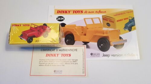 N/Ref	250	ED.ATLAS 	VOITURE	Dinky Toys Jeep version civile NBO