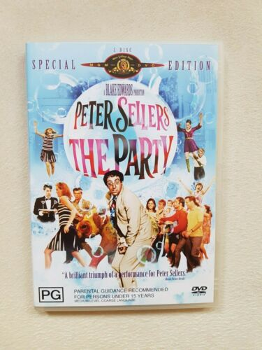 The Party Special Edition DVD Peter Sellers