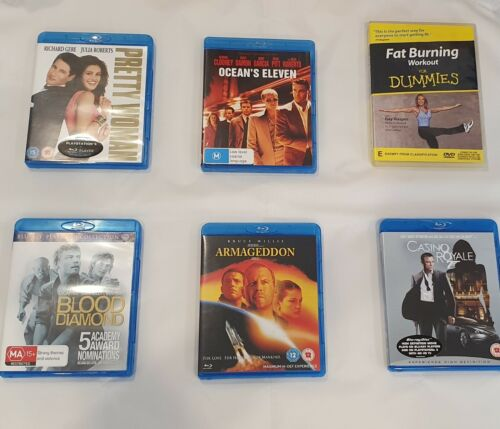 Blu-ray DVDs - very good condition