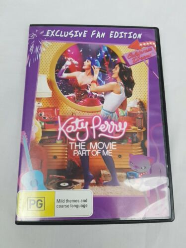 KATE PERRY THE MOVIE PART OF ME DVD R4 PAL