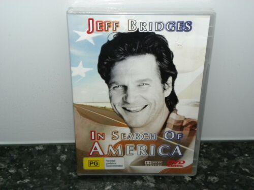 In Search Of America Jeff Bridges (ALL Regions) DVD NEW & SEALED