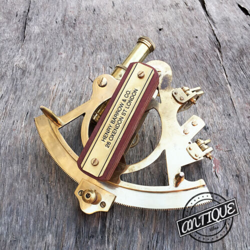 Vintage Telescope Lens Sextant Antique Style Vintage Tool Astrolabe Compass