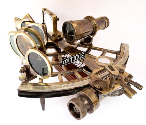 Antique model Astrolabe Sextant Marine Boat Equipment Vintage Era (Sailor Gifts)