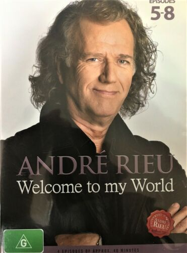 ANDRÉ ANDRE RIEU Welcome To My World Part 2 Episodes 5-8 DVD MUSIC WORLDWIDE R0