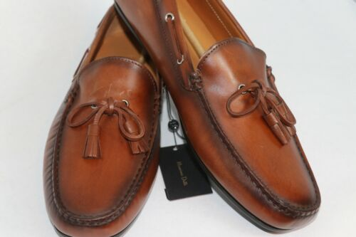 Massimo Dutti Loafers Driving Boat Brown (EU 44) 11 US Brand New 6304/022/709