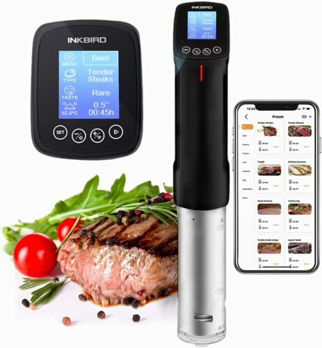 Inkbird Sous Vide Precision Cooker WIFI Culinary Immersion Circulator Time Alarm