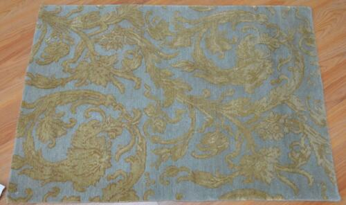2 x 3 KPSI 150 Contemporary Modern Design Hand Knotted 100% Pure Wool Area Rug