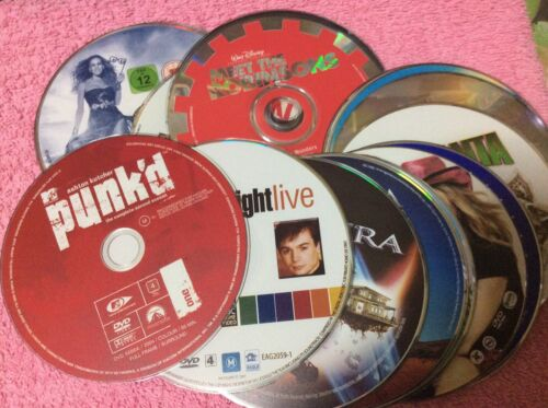 Variety of Movies R4 DVD Disc Only - Drop Down & Take Your Pick #3