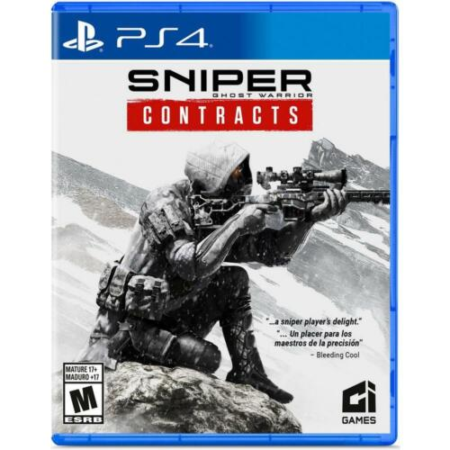 Sniper Ghost Warrior Contracts Sony Playstation 4 Brand New Store Display Ci
