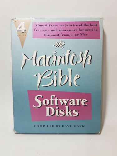 The Macintosh Bible Software Disks 4th Edition