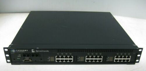 Foundry Networks ServerIron XL 24 Port 10/100 Load Balancing Device FBSLB24 2 AC