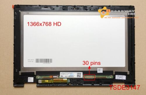 """11.6"""" Screen Digitizer Touch Assembly Dell Inspiron 11 3147 3157 3148 3158 p20t"""