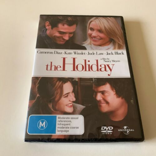 THE HOLIDAY DVD, NEW & SEALED, FREE POST