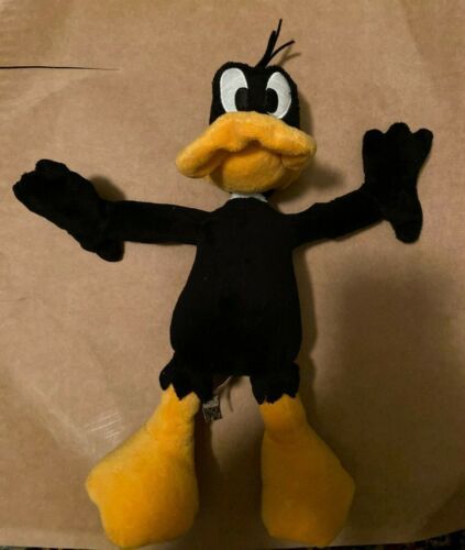 Daffy Duck - Warner Brothers Plush Toy - From Looney Tunes cartoons. Plushie.