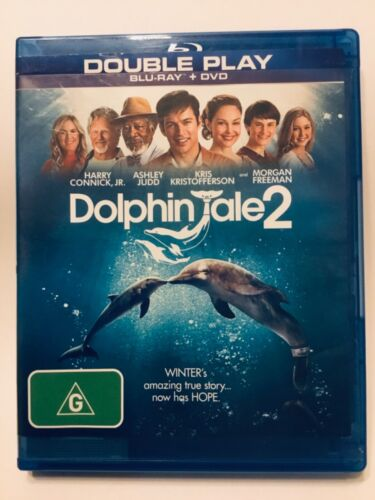 Dolphin Tale 2 (Blu-ray, 2014). BLU-Ray only.  AS NEW