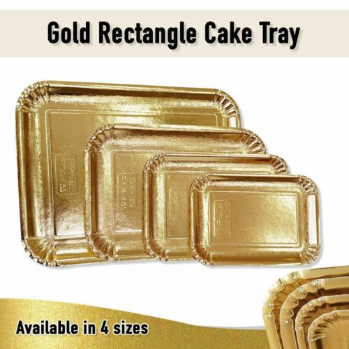 Cake Boards Gold Trays Disposable Cardboard Cake Cookies Wedding Cupcake Boxes