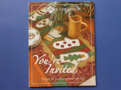 # THIMBLEBERRIES - YOU'RE INVITED... - BK 335 - JENSEN - QUILTS QUILTING PATTERN
