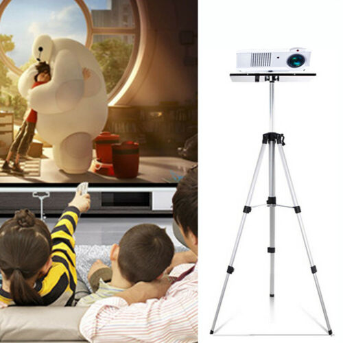 Folding Stable Projector Stand Laptop Video Tripod Holder Theater Studio Mixer