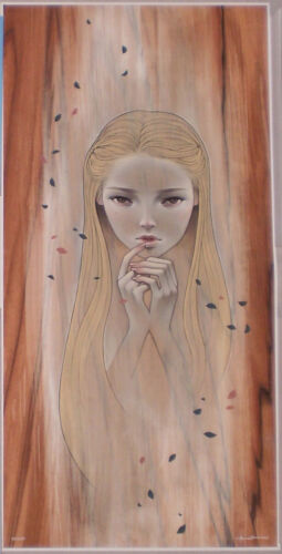 Audrey Kawasaki Fragile Giclee Art Print Poster Signed #d /200 New 2016 Numbered