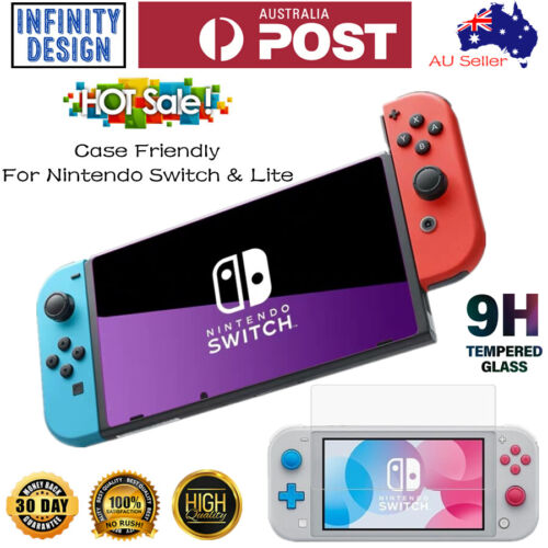 Premium Tempered Glass Screen Protector for Nintendo Switch/Switch Lite