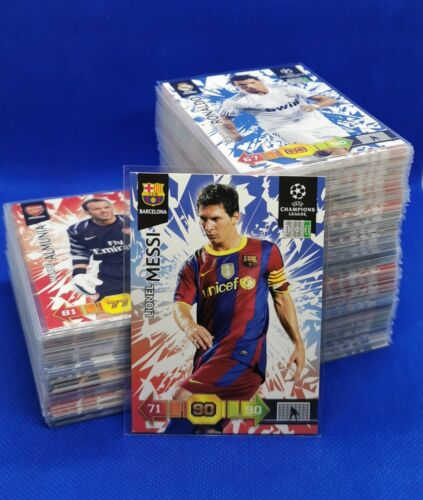 PANINI Adrenalyn XL Champions League 2010/11 ALLE 250 Base Cards / All Complete
