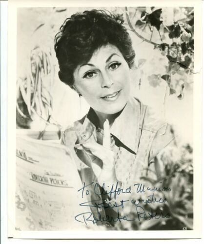 OPERA and film star ROBERTA PETERS autograph SIGNED 1920