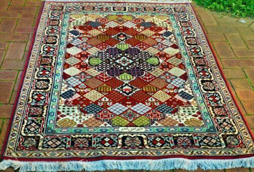 Authentic Genuine Signed Hand-Knotted Azarbayjan/TabrizRug (180 cm x 123 cm)