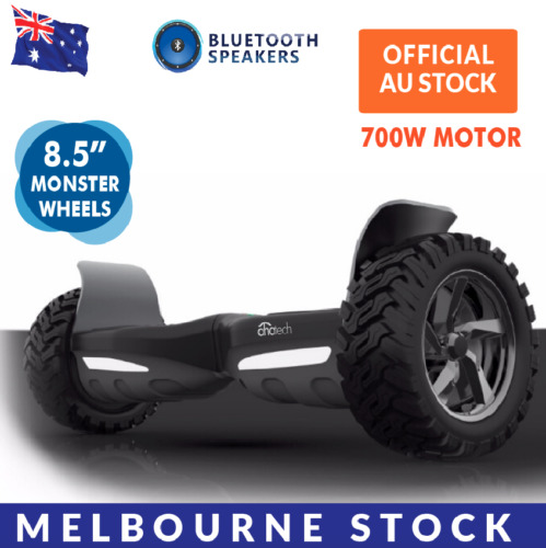 AhaTech 8.5 inch Self Balancing Electric Scooter Hoverboard Skateboard Off Road